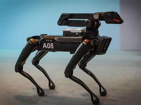 Watch Boston Dynamics' Spotmini Robot Strut Through A