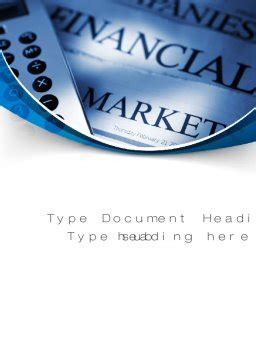 accounting  finance word template