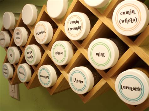 Spice Rack Stickers by Labels For Spice Jars In Is In