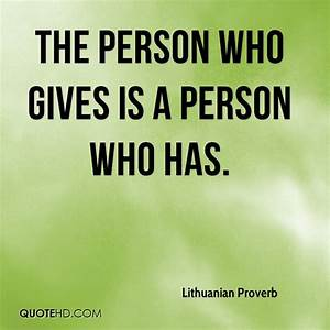 Lithuanian Prov... Lithuanian Love Quotes