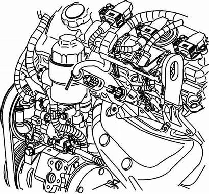 Sensor Coolant Temperature Removal Location Engine 6l