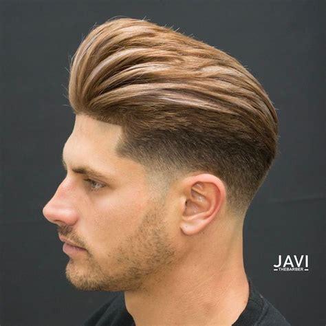 pompadour fade haircuts   amazing undercut