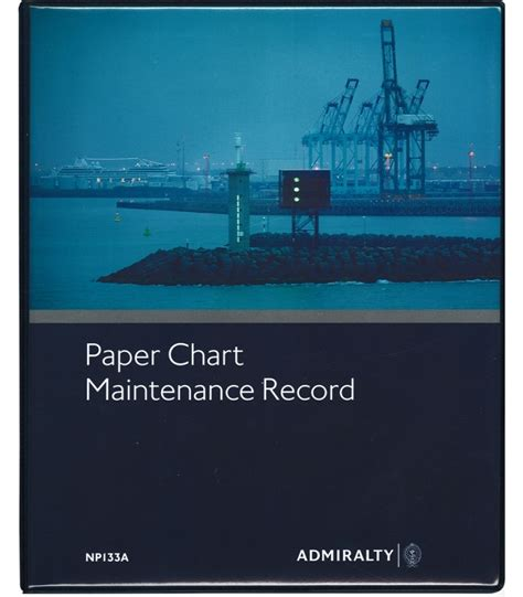 npa paper chart maintenance record  edition