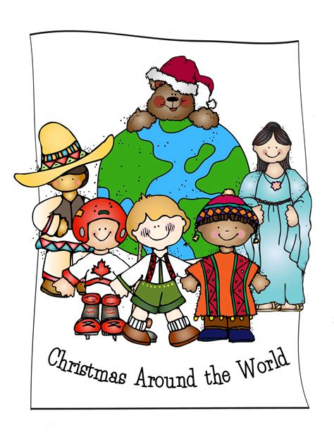 Christmas Around The World Clipart Clipground