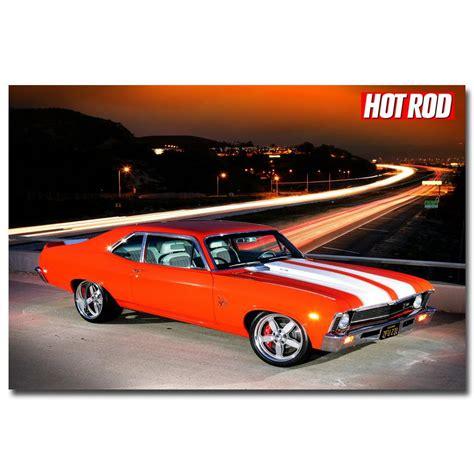 Buy Nicoleshenting Hot Rod Muscle Car Art