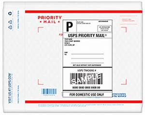 priority mail forever prepaid flat rate padded envelope With how much does a shipping label cost