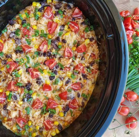 crock pot burrito bowls clean food crush