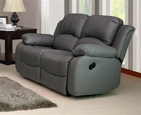 New Modern Valencia 2 Seater Luxury Bonded Leather