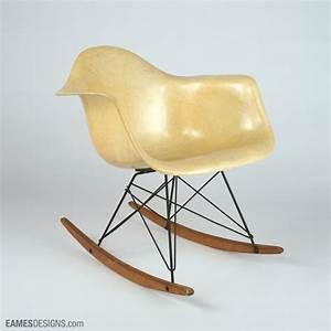 Chaise À Bascule Eames : eames herman miller chaises ~ Mglfilm.com Idées de Décoration