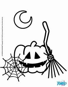 Dibujos para colorear calabaza halloween - es.hellokids.com