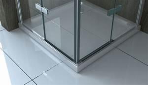 Dusche Ohne Duschtasse : canto fr 80 x 80 glas dusche duschkabine duschwand duschabtrennung eckeinstieg ~ Indierocktalk.com Haus und Dekorationen