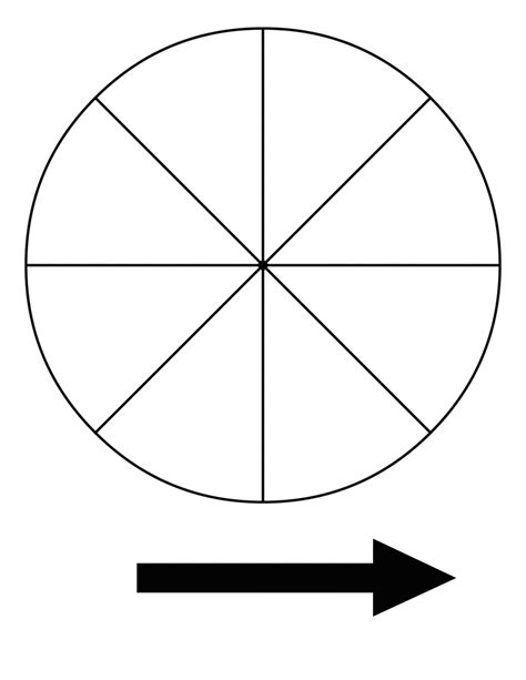 spinner template pin probability spinner on