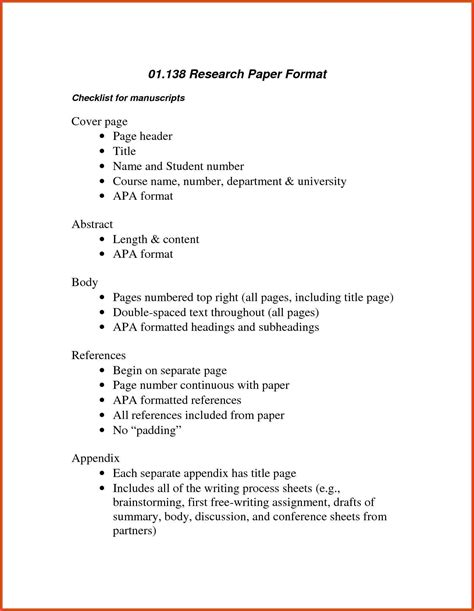 apa formal outline apa outline format moa format