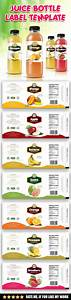 juice bottle label template bottle print and template With juice bottle label template