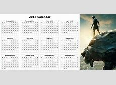 2018 Calendar Printable, Blank, Holidays, Word, Excel