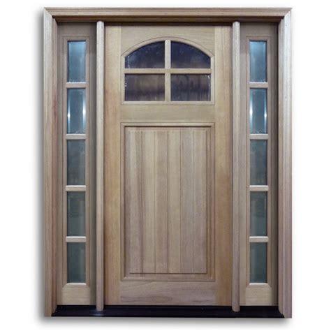 htc pre hung  lite mahogany exterior door