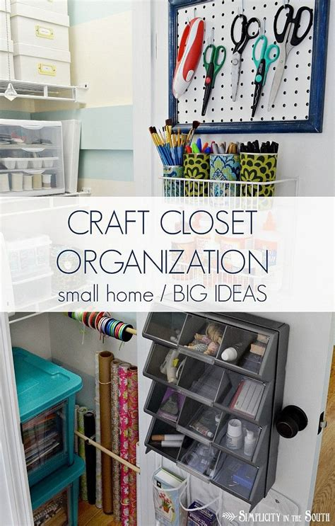 106 Best Images About Craft Storage  Crafting Closets On