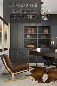 25, Ultimate, Masculine, Home, Office, Ideas, In, 2020