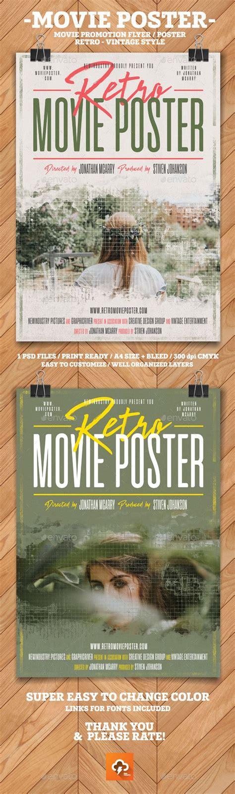 Best 25+ Movie Poster Template Ideas On Pinterest