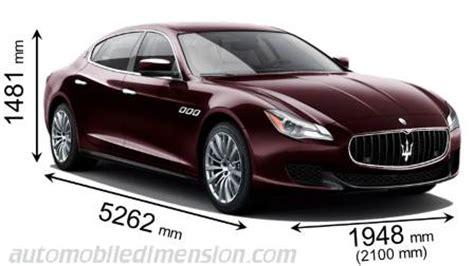 Maserati Ghibli Dimensions by Dimensions Des Voitures Maserati Avec Longueur Largeur Et