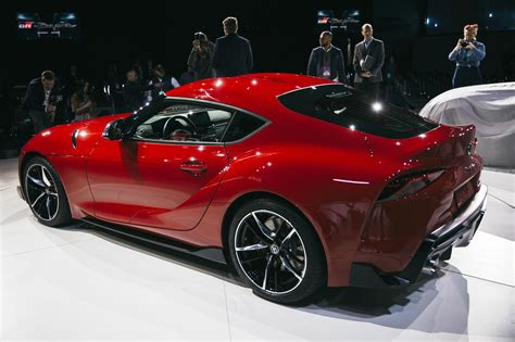 Toyota debuts its first new Supra in 21 years ...