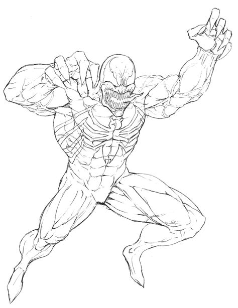 agent venom coloring pages  print coloring pages