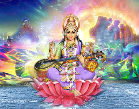 Animated Goddess Saraswati Wallpaper - free wallpapers mmw hindu goddess