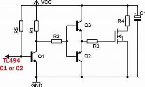 tl494 magic chip part 5 savel brain dump in english With totem pole circuit