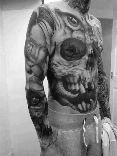 125 Skull Tattoos That Look Absolutely Menacing - Wild