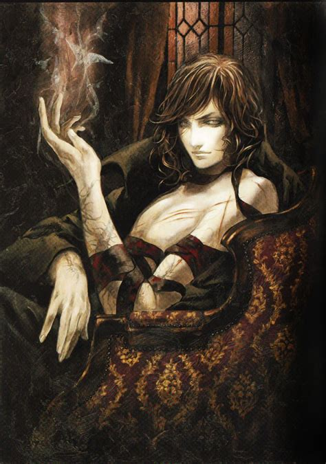 Castlevania Artist Ayami Kojimas Santa Lilio Sangre Art