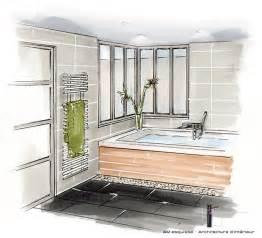 perspective salle de bain r 233 alisations conception et d 233 coration d une pi 232 ce 224 vivre et d une chambre parentale 86 am