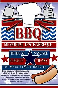 Memorial Day Bbq Template