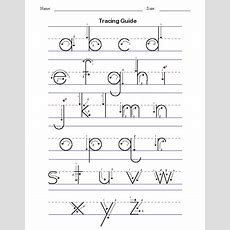 Handwriting Tracing Worksheet  Printables  Kids  Pinterest  Lower Case Letters, Shelters