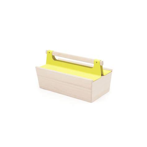 boite de rangement outils bo 238 te de rangement quot caisse 224 outils quot jaune citron hart 244 d 233 coration smallable