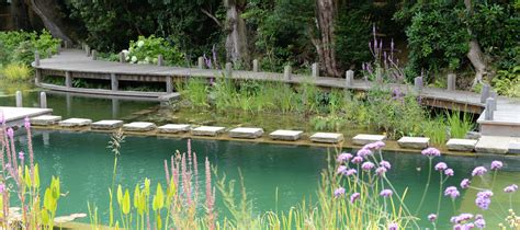 Swimming Pond : Woodhouse Natural Swimming Pools, Ponds & Conversions