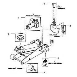 Craftsman 3 Ton Floor Jack Parts