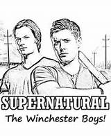 Supernatural Pages Winchester Coloring Boys Series Adults Dean Tv Sam Malvorlagen Designs Kinder Books Fuer Ausmalen Holz Zum Malbuch Erwachsene sketch template