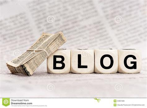 Blog Stock Photo - Image: 34801080