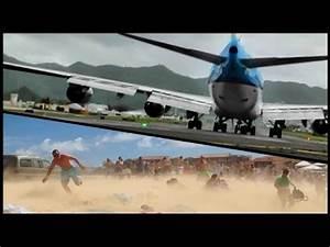 "JET BLAST from a Boeing 747 ""Jumbo Jet"" at Princess ..."