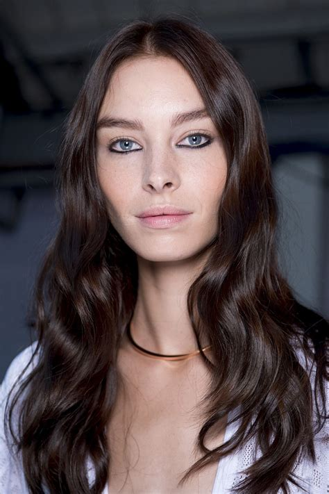 brunette hair color trends  chocolate brown london