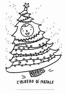 L albero di Natale da colorare per i bambini [FOTO] PourFemme