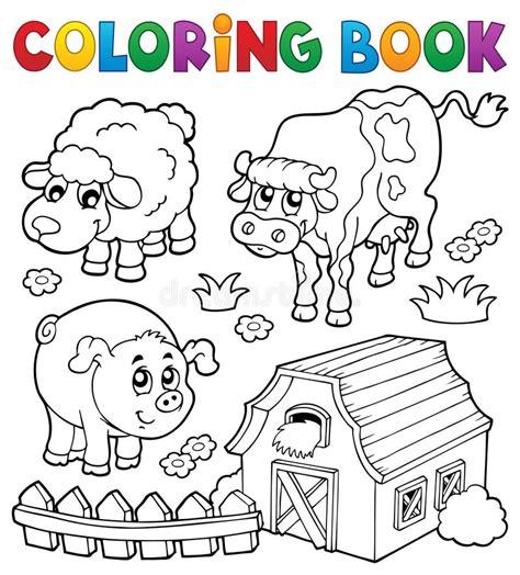 Animali Da Cortile Da Colorare by Libro Da Colorare Con Gli Animali Da Allevamento 6