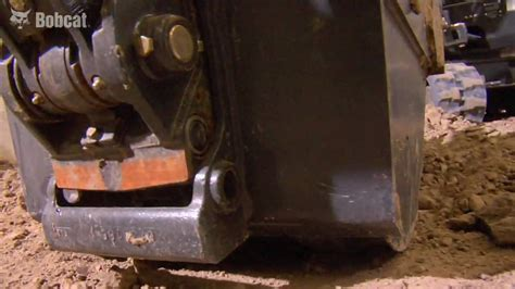 bobcat  series compact excavators mini excavators  change mounting system youtube