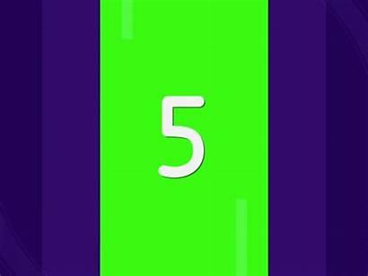 Number Animation Dribbble Icon Mela