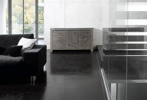 meuble cuisine salle de bain meuble gris en teck photo 4 10 un aspect très chic pour ce buffet en teck gris