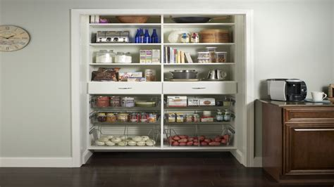 Pantry Storage System Organize Laundry Room Kitchen Closet Pantry Systems