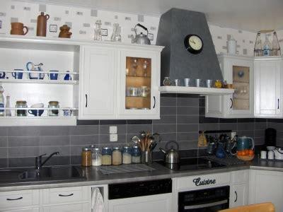 idee deco pour cuisine blanche idee deco cuisine blanche et grise