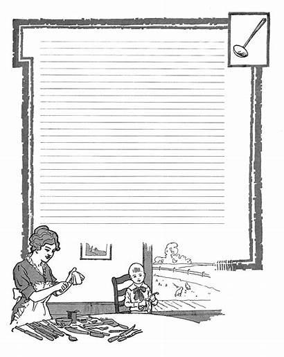 Frame Kitchen Printable Scrapbooking Digital Clip Journaling