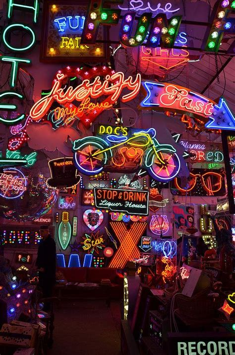 Aesthetic Wallpaper Neon by February 2016 Light In 2019 Neon Aesthetic
