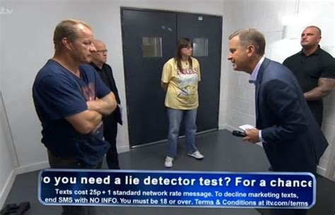 jeremy kyle lying  lie detector test daily star